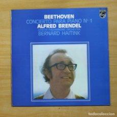 Discos de vinilo: BEETHOVEN / ALFRED BRENDEL - CONCIERTO PARA PIANO N 1 - LP. Lote 144842152