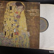 Discos de vinilo: LP PIERRE BOULEZ. NEW YORK PHILHARMONIC. CBS, 1977. Lote 144850445