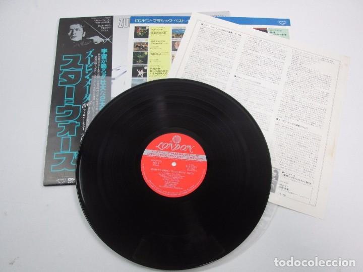 Discos de vinilo: VINILO EDICIÓN JAPONESA OST ( ZUBIN MEHTA ) STAR WARS JOHN WILLIAMS ANGELES PHILARMONIC ORCHESTRA - Foto 4 - 144858874