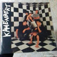 Discos de vinilo: KAMENBERT LP VINILO AÑO INSERT 1987 MOD FLECHAZOS TELEGRAMA SCOOTERS. Lote 160153340