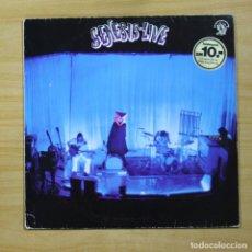 Discos de vinilo: GENESIS - LIVE - LP. Lote 144863300
