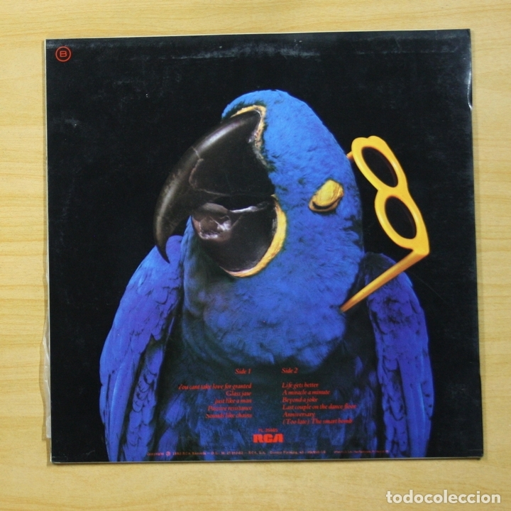 Discos de vinilo: GRAHAM PARKER - THE REAL MACAW - LP - Foto 2 - 144863709