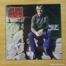 Discos de vinilo: JOHN DENVER - GREATEST HITS VOLUME TWO - LP. Lote 144867362