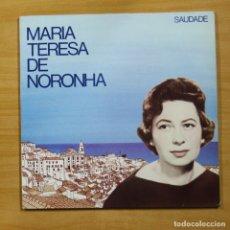 Discos de vinilo: MARIA TERESA DE NORONHA - SAUDADE - 2 LP. Lote 155562494