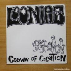 Disques de vinyle: LOONIES - CROWN OF CREATION - LP. Lote 144869621