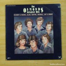 Discos de vinilo: THE OSMONDS - GREATEST HITS - GATEFOLD - 2 LP. Lote 144871432