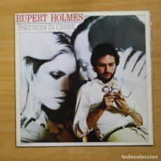 Discos de vinilo: RUPERT HOLMES - PARTNERS IN CRIME - LP. Lote 144871909