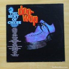 Discos de vinilo: VARIOS - THE BEST OF CHESS CHECKER CADET DOO WOP - LP. Lote 144871945