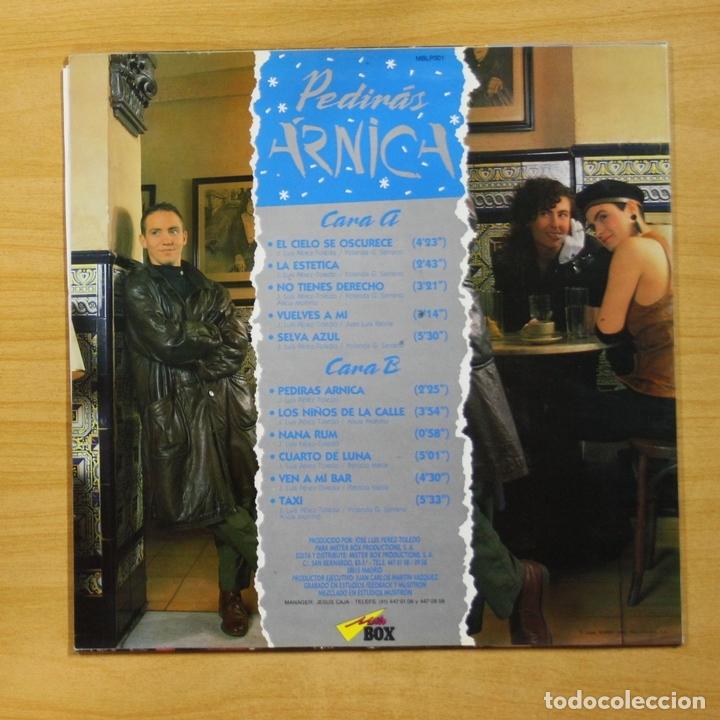 Discos de vinilo: PEDIRAS ARNICA - PEDIRAS ARNICA - LP - Foto 2 - 144872025