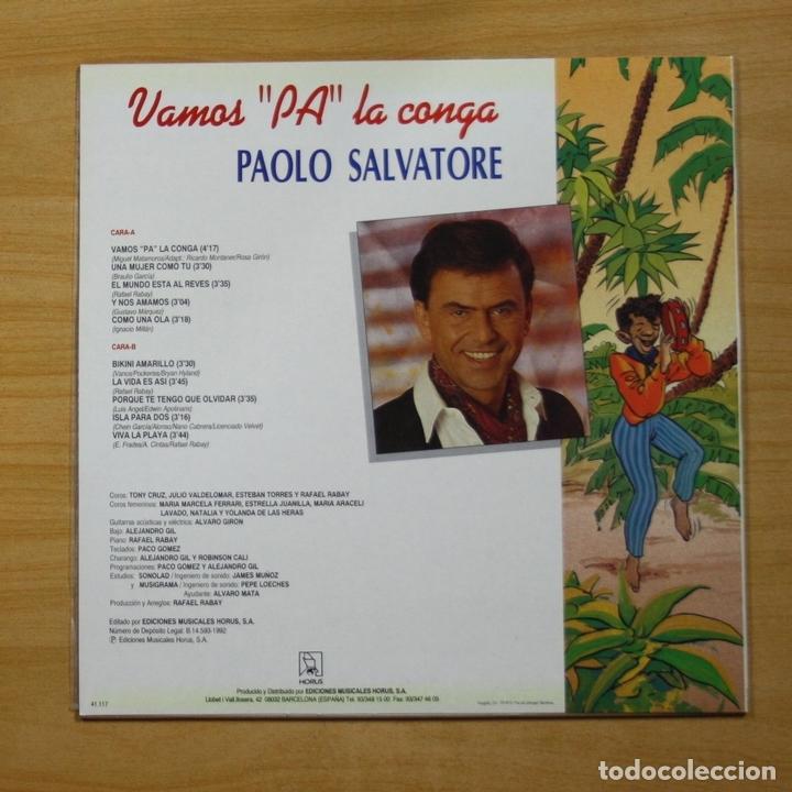 Paolo Salvatore La Pa Vamos Lp Conga b6IY7vgyf