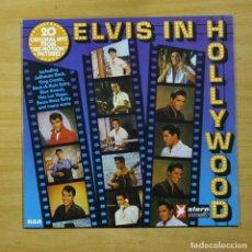 Discos de vinilo: ELVIS PRESLEY - ELVIS IN HOLLYWOOD - LP. Lote 144873100