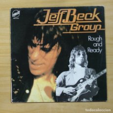 Discos de vinilo: JEFF BECK GROUP - ROUGH AND READY - LP. Lote 144873204