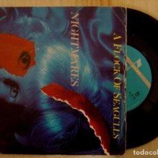 Discos de vinilo: A FLOCK OF SEAGULLS - NIGHTMARES / ROSENMONTAG - SINGLE 1983 - JIVE. Lote 144874902