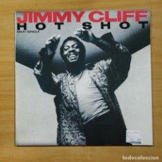 Discos de vinilo: JIMMY CLIFF - HOT SHOT - MAXI. Lote 144875588