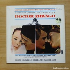 Discos de vinilo: MAURICE JARRE - DOCTOR ZHIVAGO - LP. Lote 144875741