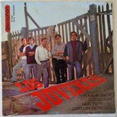Discos de vinilo: LOS JOVENES - ADIOS, MI AMOR + 3 TEMAS DISCOPHON - 1965. Lote 144877094
