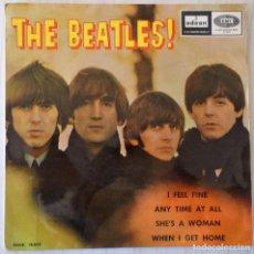Discos de vinilo: THE BEATLES - I FEEL FINE + 3 TEMAS ODEON - 1964. Lote 144877934