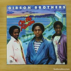 Discos de vinilo: GIBSON BROTHERS - ON THE RIVIERA - LP. Lote 144878389