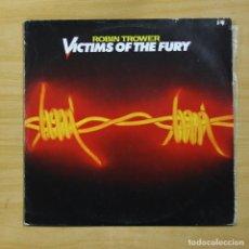 Discos de vinilo: ROBIN TROWER - VICTIMS OF THE FURY - LP. Lote 144878614