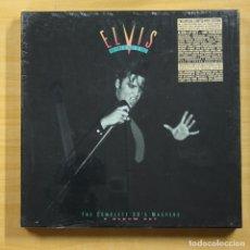 Discos de vinilo: ELVIS PRESLEY - THE KING OF ROCK & ROLL THE COMPLETE 50Փ MASTERS - BOX 6 LP. Lote 144879117