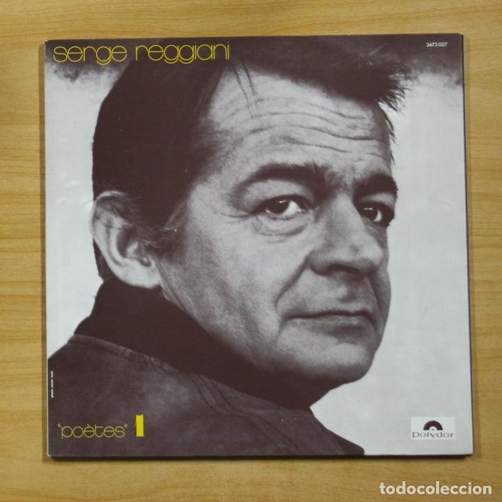 SERGE REGGIANI - POETES 1 - GATEFOLD - LP (Música - Discos - LP Vinilo - Canción Francesa e Italiana)