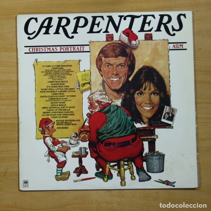 Carpenters Christmas Portrait.Carpenters Christmas Portrait Lp Sold Through Direct
