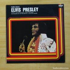 Discos de vinilo: ELVIS PRESLEY - PURE GOLD - LP. Lote 144881362
