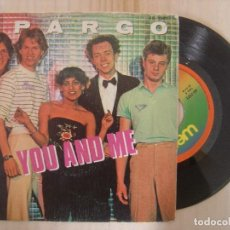 Dischi in vinile: SPARGO - YOU AND ME / WORRY - SINGLE ESPAÑOL 1980 - WEA. Lote 144888030