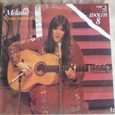 Discos de vinilo: MELANIE, GENTE MARAVILLOSA. BUDDAH RECORDS (1978). 2 LP BUEN ESTADO. Lote 144898446