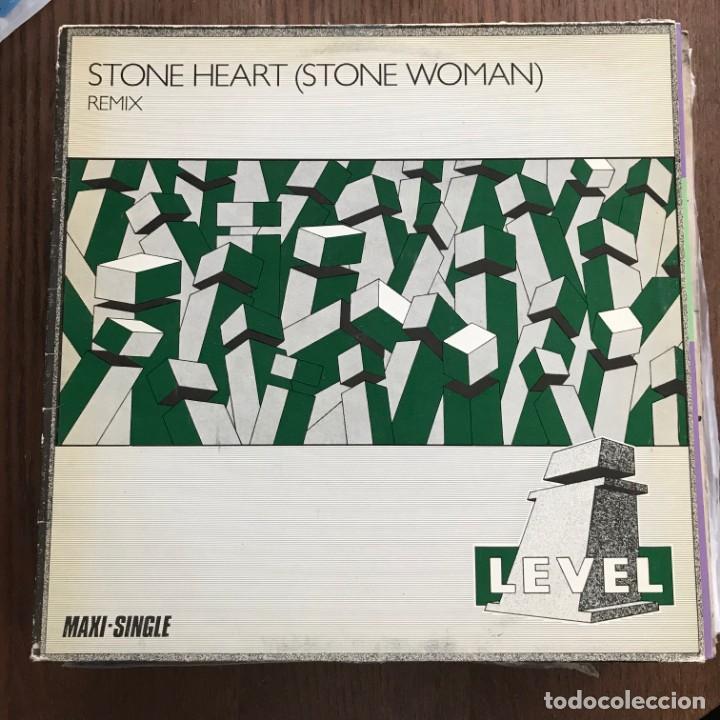 I-LEVEL - STONE HEART (STONE WOMAN) - 12'' MAXISINGLE VIRGIN 1983 (Música - Discos de Vinilo - Maxi Singles - Disco y Dance)