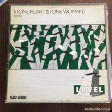 Discos de vinilo: I-LEVEL - STONE HEART (STONE WOMAN) - 12'' MAXISINGLE VIRGIN 1983. Lote 144929722