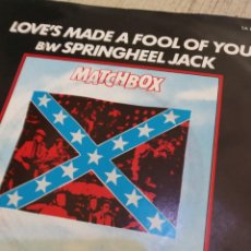 Discos de vinilo: MATCHBOX SINGLE ROCKABILLY. Lote 144932134