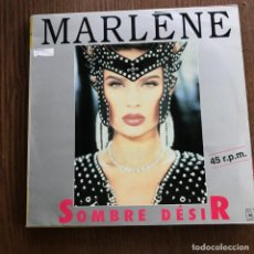 Discos de vinilo: MARLENE MOURREAU - SOMBRE DESIR - 12'' MAXISINGLE HORUS 1991. Lote 144948570