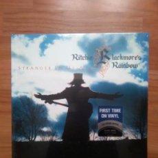 Discos de vinilo: RITCHIE BLACKMORE´S RAINBOW-STRANGER IN US ALL(2MAXIS DESPLEGABLE). Lote 144955934
