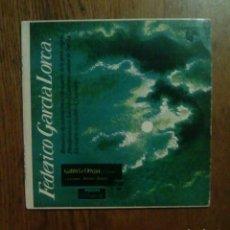 Discos de vinilo: FEDERICO GARCIA LORCA - ROMANCE DE LA LUNA LUNA, PHILIPS, 1960. SPAIN.. Lote 144956989