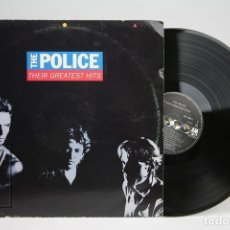 Discos de vinilo: DISCO LP DE VINILO - THE POLICE THEIR GREATEST HITS - A&M - AÑO 1990 - CON ENCARTE. Lote 144967860