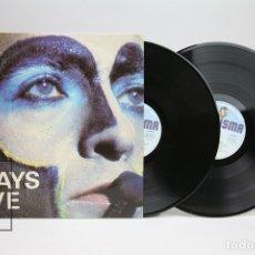 Discos de vinilo: DOBLE DISCO LP DE VINILO - PLAYS LIVE PETER GABRIEL - CHARISMA - AÑO 1983. Lote 144967985