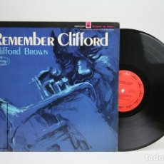 Discos de vinilo: DISCO LP DE VINILO - CLIFFORD BROWN / REMEMBER CLIFFORD - MERCURY - USA. Lote 144968705