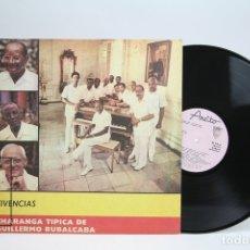 Discos de vinilo: DISCO LP DE VINILO - VIVENCIAS / CHARANGA TIPICA DE GUILLERMO RUBALCABA - ARIETO - AÑO 1988. Lote 144968878