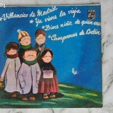 Discos de vinilo: COROS DE ESCUELAS AVEMARIANAS. VILLANCICO DE MADRID + 3 TEMAS. EP. Lote 144985982