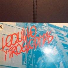 Discos de vinilo: LOQUILLO Y TROGLODITAS EL RITMO DEL GARAJE LP VERDADERA 1ª EDICIÓN LABEL BLANCO 3 CIPRESES 1983. Lote 145011974