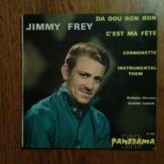 Discos de vinilo: JIMMY FREY - DA DOU RON RON, 1964. FRANCE.. Lote 145022813
