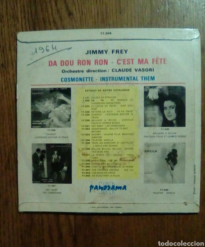 Discos de vinilo: Jimmy Frey - Da Dou Ron Ron, 1964. France. - Foto 2 - 145022813