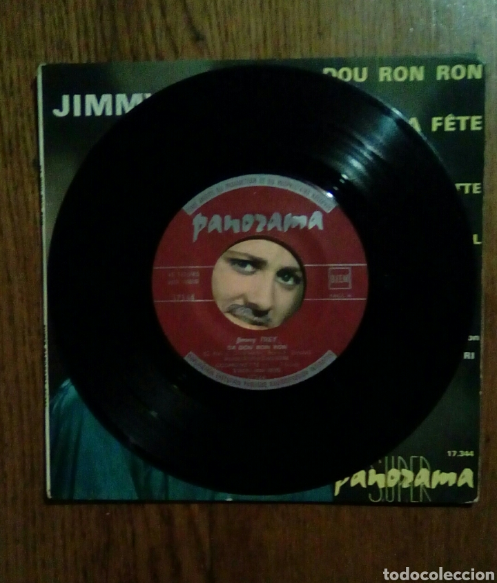 Discos de vinilo: Jimmy Frey - Da Dou Ron Ron, 1964. France. - Foto 3 - 145022813
