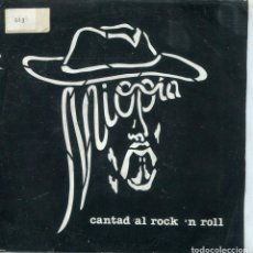 Discos de vinilo: MIOPIA / CANTAD AL ROCK 'N ROLL / YASA, 22 (SINGLE 1983). Lote 145028194