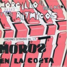 Discos de vinilo: MORCILLO EL BELLACO Y LOS RITMICOS / NO TRATES DE VOLVER O TE MORDERE + 3 (EP PROMO 1985). Lote 145032398