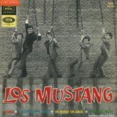 Discos de vinilo: LOS MUSTANG / MI VIDA + 3 (EP 1964). Lote 145033506
