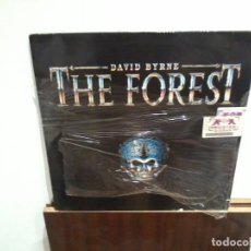 Discos de vinilo: DAVID BYRNE LP THE FOREST PRECINTADO, NUEVO. Lote 145044794