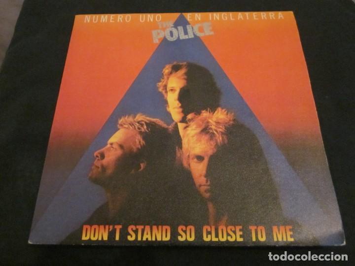 THE POLICE - DON'T STAND SO CLOSE TO ME - EDICION ESPAÑOLA DEL AÑO 1980. (Música - Discos de Vinilo - Singles - Pop - Rock Extranjero de los 80)