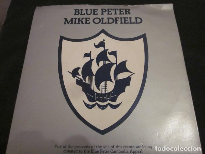 MIKE OLDFIELD - BLUE PETER - SN - EDICION INGLESA DEL AÑO 1979. (Música - Discos - Singles Vinilo - Electrónica, Avantgarde y Experimental)